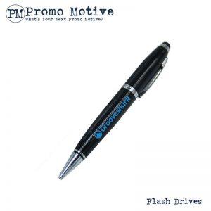 002 Black Pen Shaped USB Flash Drive