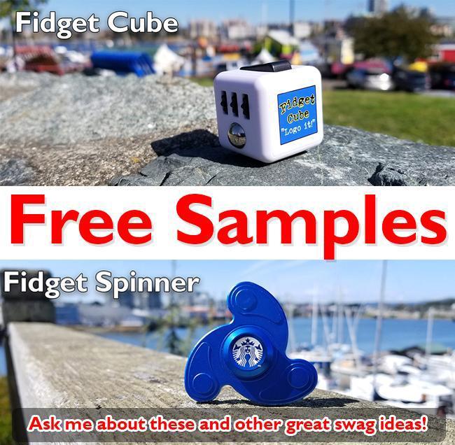 FREE FIDGET SWAG PROMO SAMPLES | Promo Motive