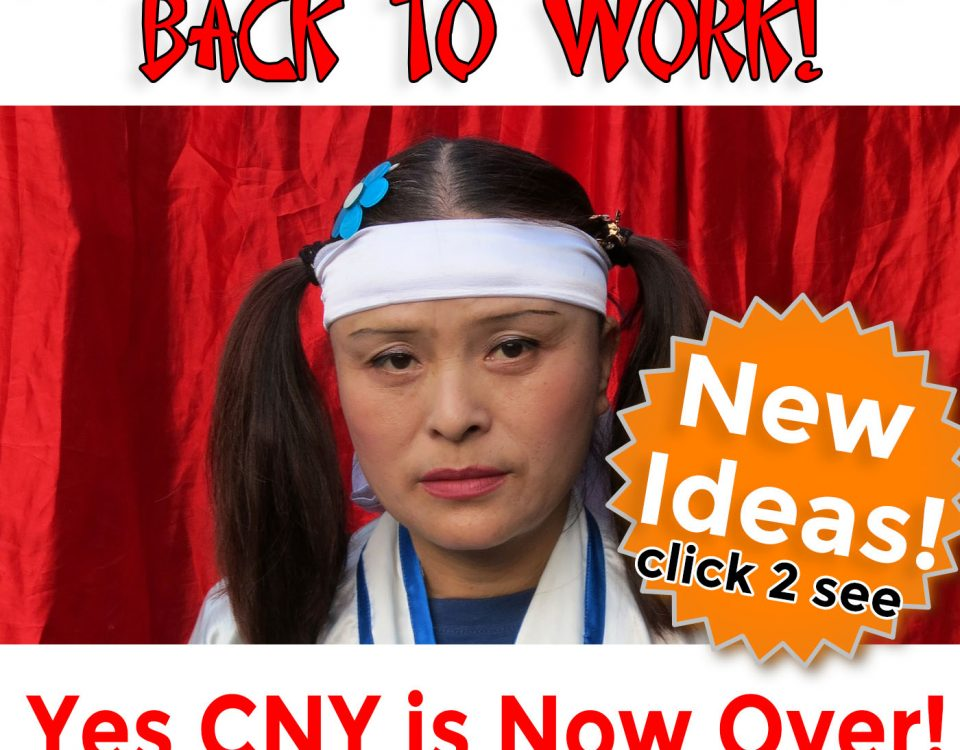 chinese new years is over and promotional products marketing gets back on track