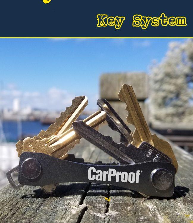 grey keysmart key system promotional product