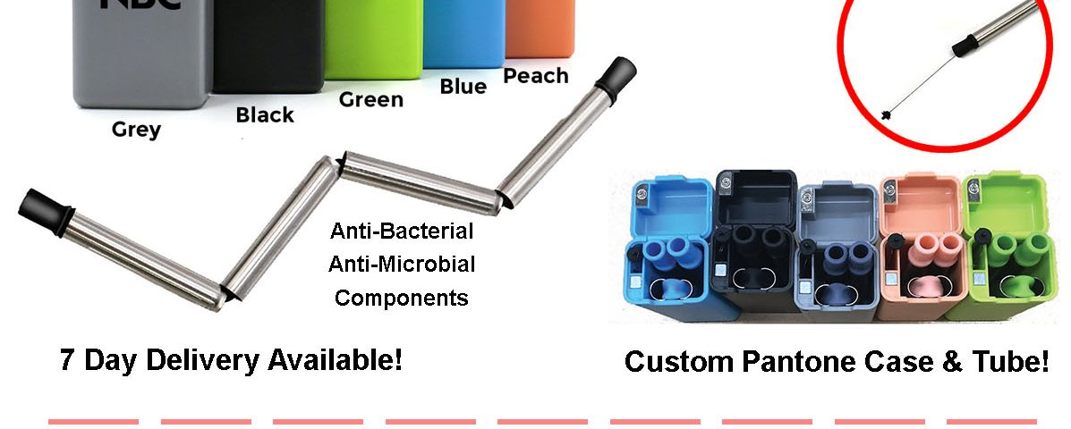 last straw folding reusable stainless steel drinking straw details