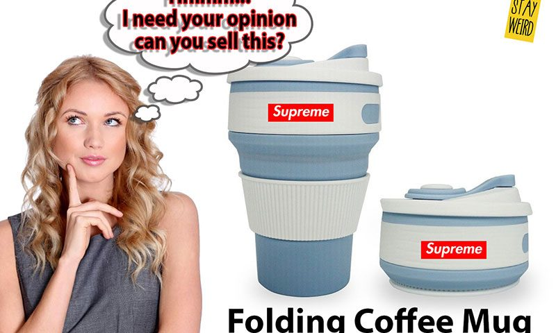 can-u-sell-the-folding-reusable-silicone-coffee-mug-for-logo-promotional-product