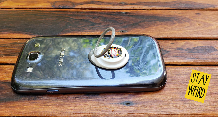 pop ring phone stand grip