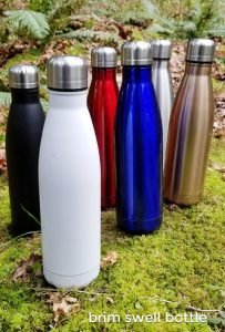Stainless steel vacuum water bottles. Get your promotional logo on these cheap bulk promotional drinkware and drinking straws. Inexpensive and effective marketing with stainless steel drinking straws, folding water bottles and folding straws.