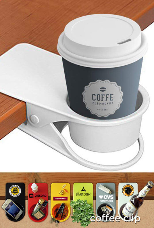 coffee clip pbulk promotional product