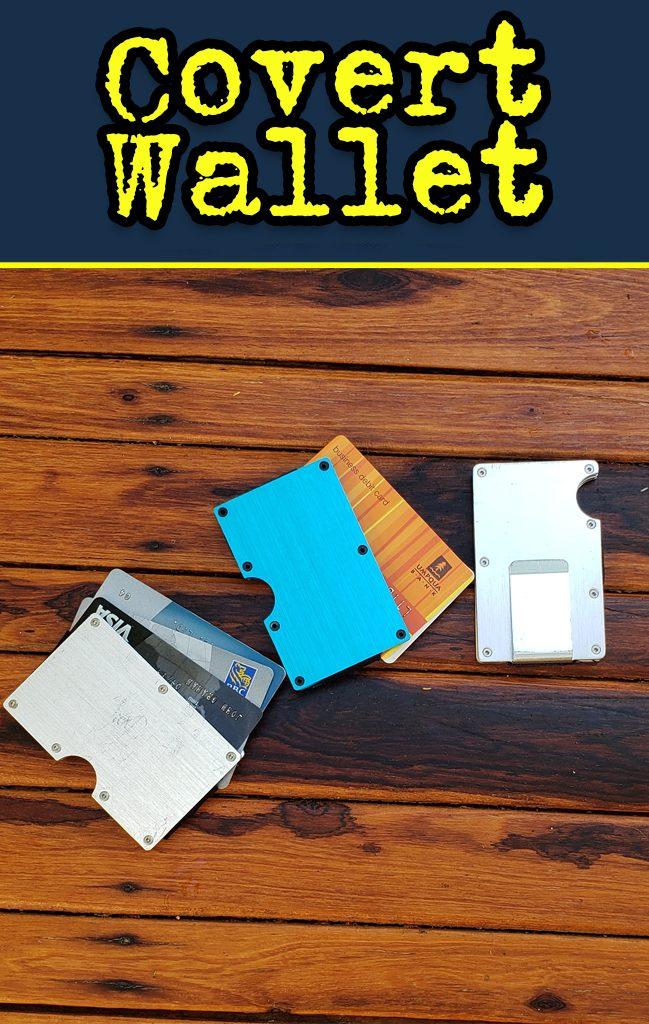 steel RFID wallet.