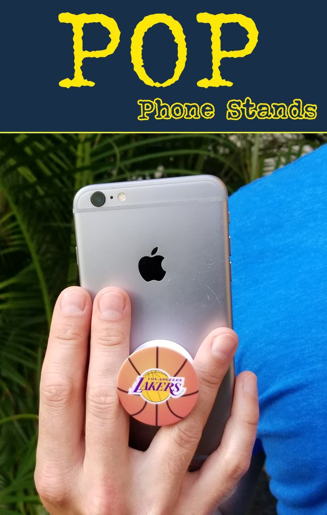 Pop phone grip is perfect for your logo or marketing message.