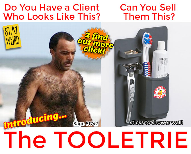 tooletrie promotional product
