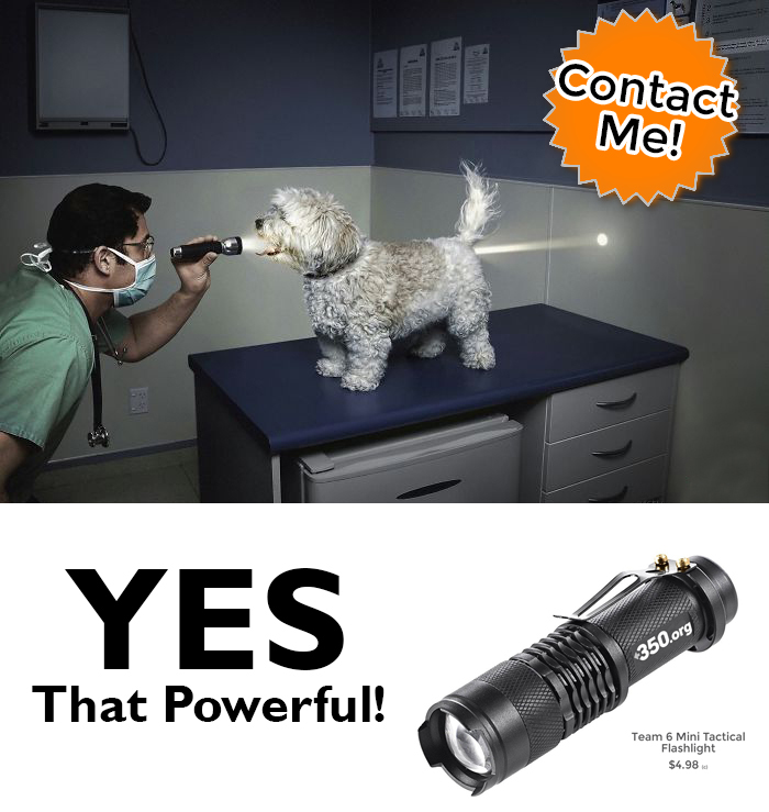 inexpensive flashlight promotional products