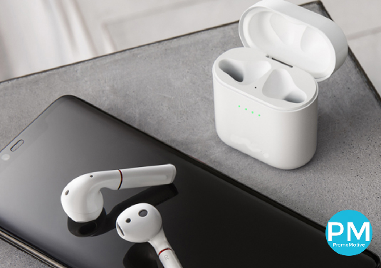 promo motive promotional products ear buds