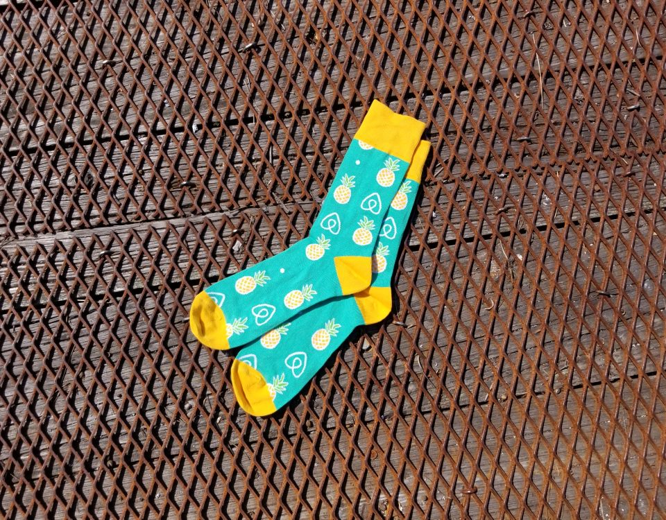 socks, knit, sandals, flip flops, slips, dye sub, promotional, product, swag, promo motive