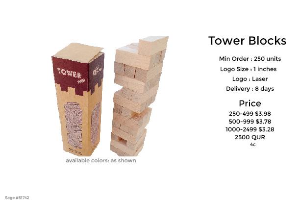 jenga mini wood block puzzle