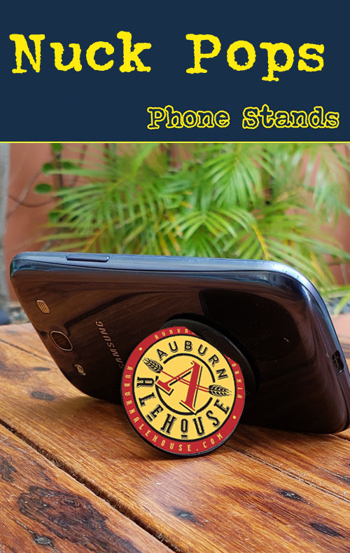 nuckee phone stands for less. get your logo on a nuckee phone stand