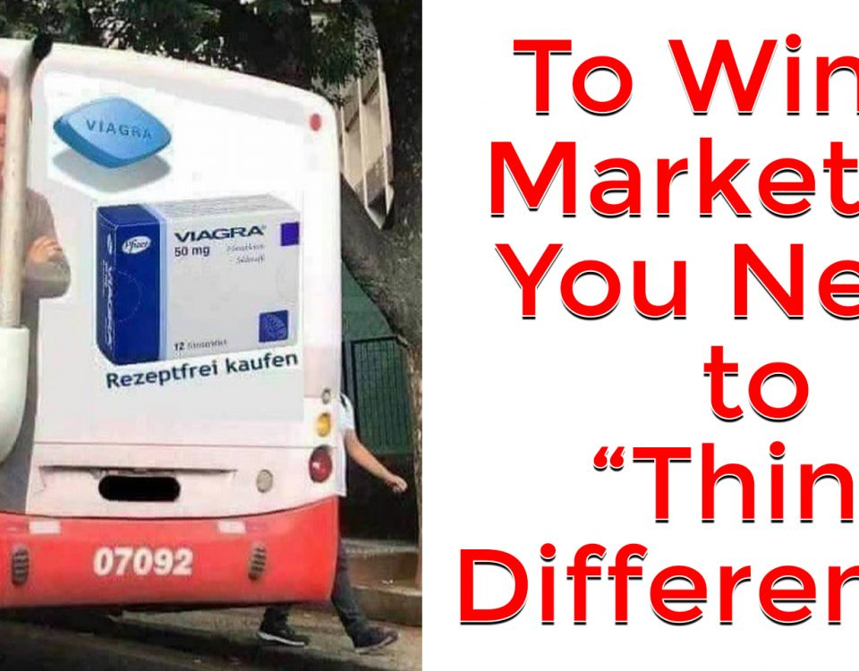think differently to win at marketing