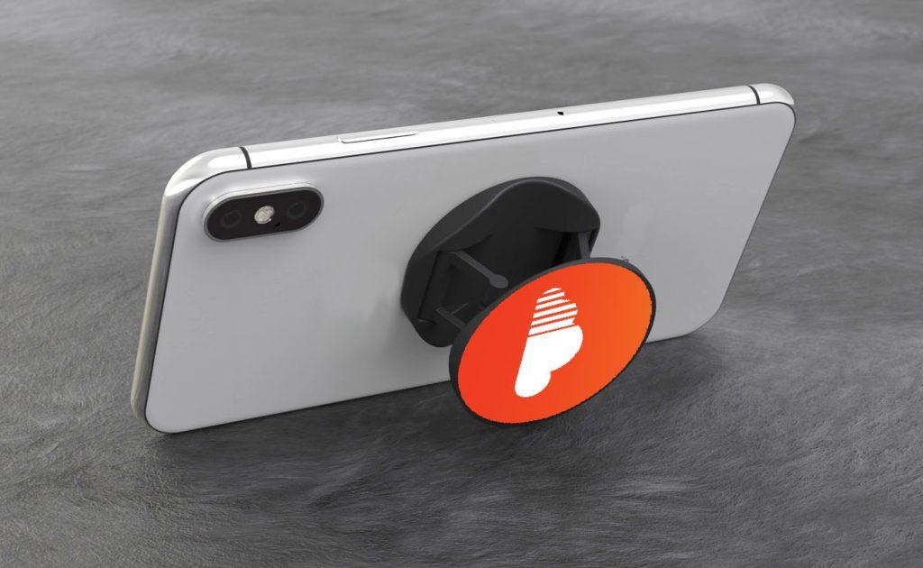 pop gripper promotional phone holder