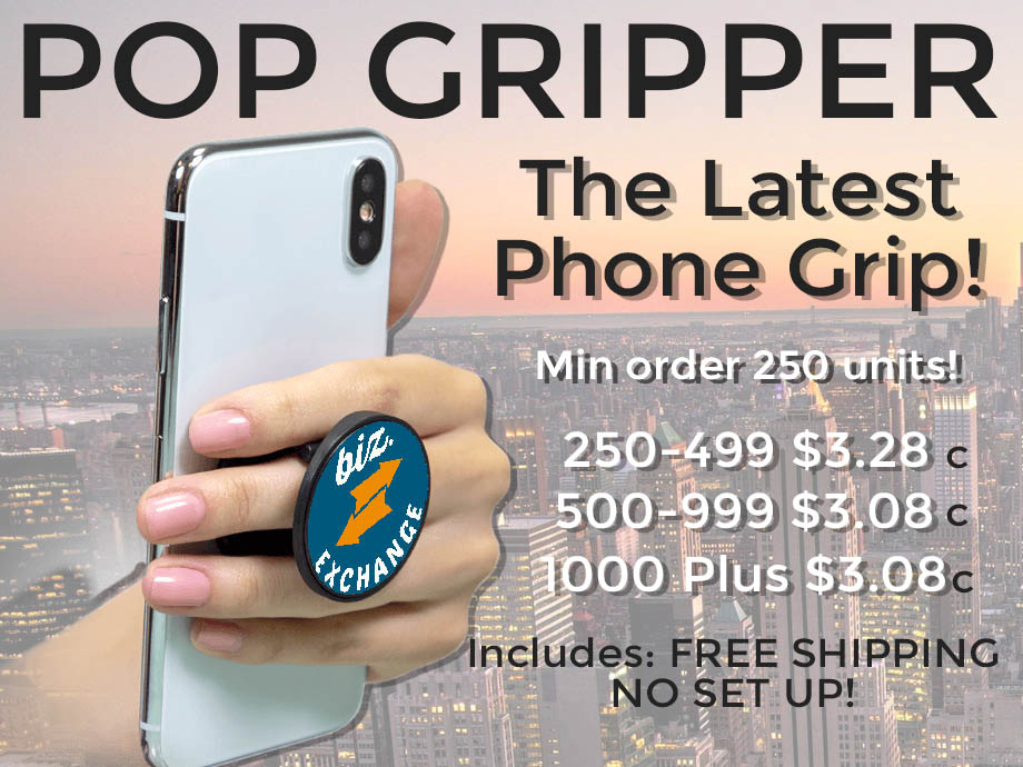 pop gripper promotional product