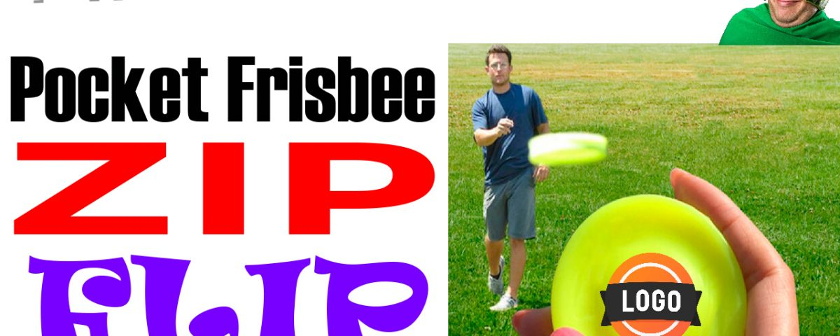 millennial frisbee. The zip flip chip pocket frisbee for your logo? What else would you call it.