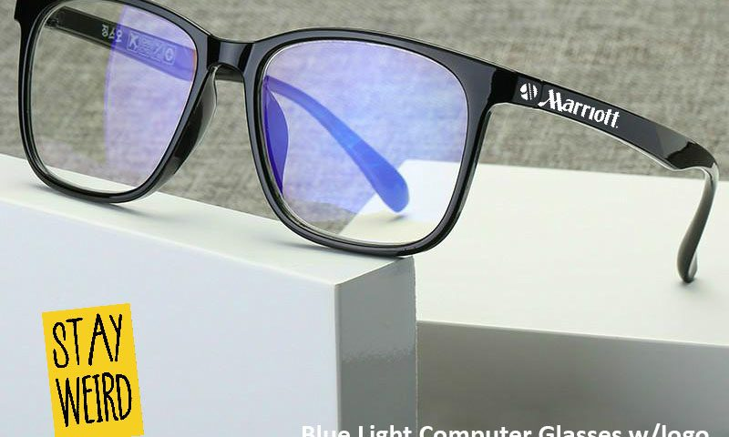 Blue light blocking glasses for promotional products