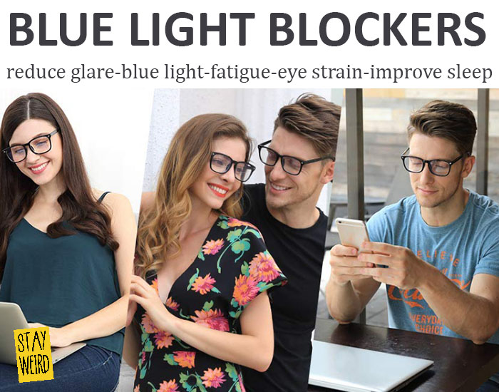 inexpensive blue light blocking computer glasses