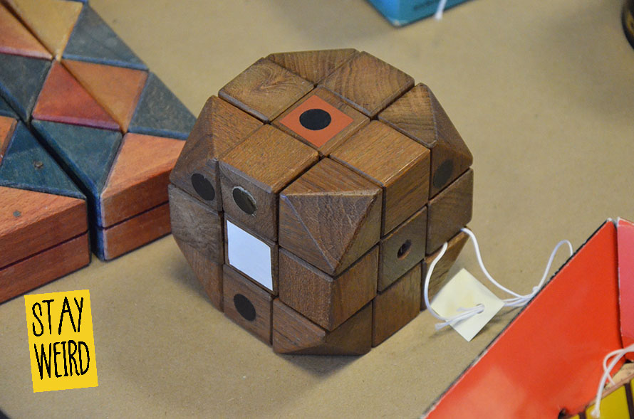 Picture of the original Rubiks Cube as designed and invented in 1974 by Hungarian sculptor and professor of architecture Ernő Rubik.