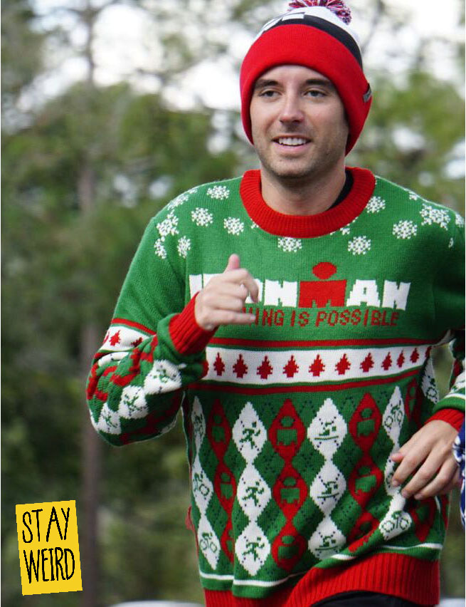 Get your logo on an ugly christmas sweater